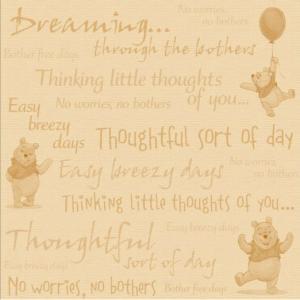 Disney Winnie the Pooh paper