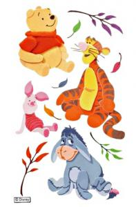 Disney Pooh and Pals stickers
