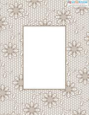 Vintage Scrapbook Elements 3 frame