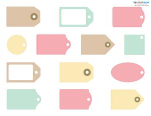 Free Scrapbook Tags 1