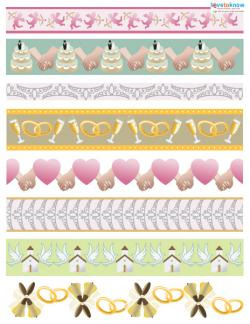 Wedding Scrapbook Ideas border 2