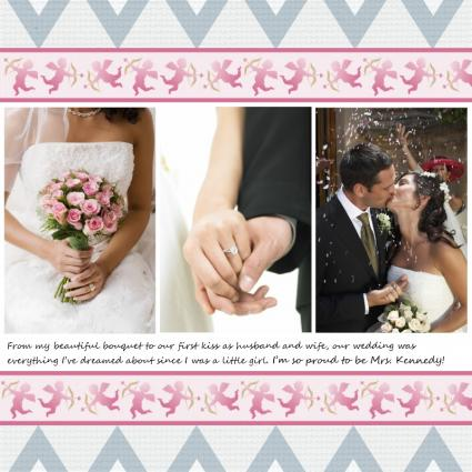 8x8 Scrapbook Layouts