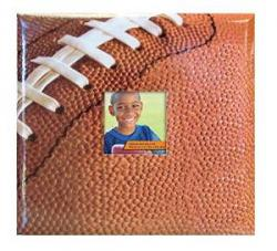 Football scrapbook album at Amazon.com