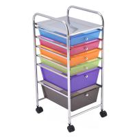 Rolling 6 drawer storage cart