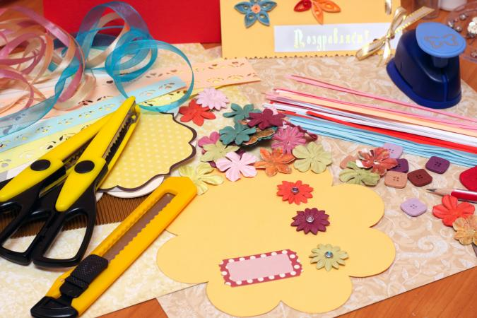 Shopping for wholesale scrapbooking supplies lovetoknow for Craft supplies online cheap
