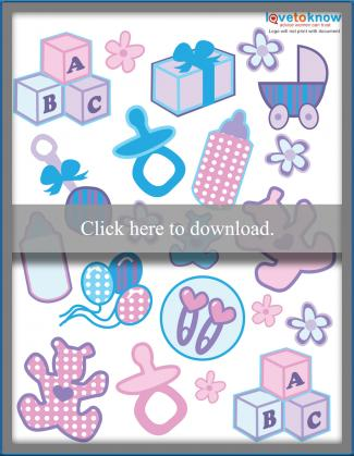 baby printable stickers printable pdf