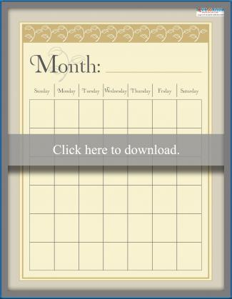 Month Smash Book - 8 1/2 x 11