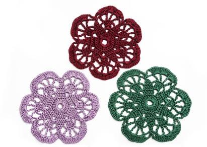 How To Scrapbook With Crochet Flowers