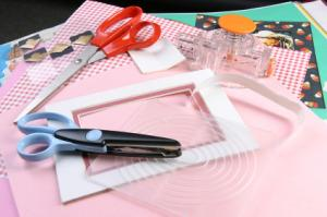 Basic scrapbooking supplies