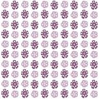 purple flowers scrapbook paper