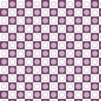 Purple circles scrapbook paper
