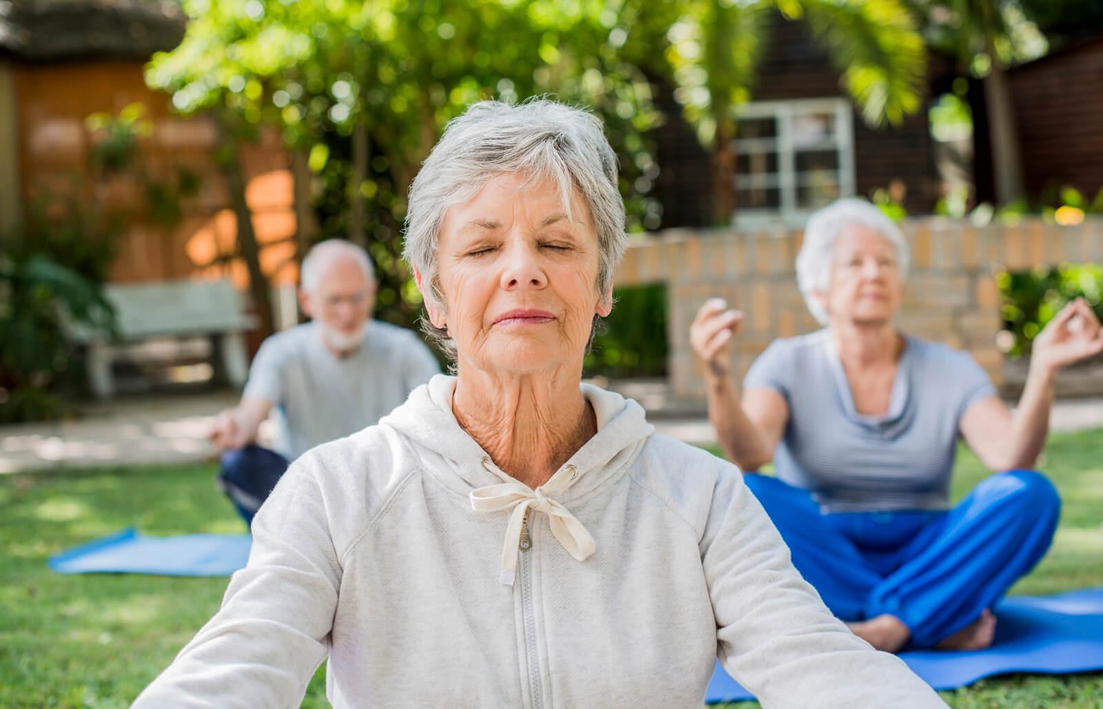 Five Ways to Keep Older People Happy