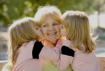Grandma with Twins
