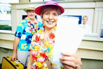 Seniors Traveling