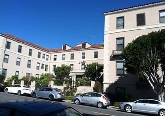 Presidio Gate Apartments view from Lombard St.