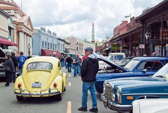 Downtown Grass Valley Classic Car Show