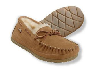 Men's Wicked Good Moccasins at L.L. Bean
