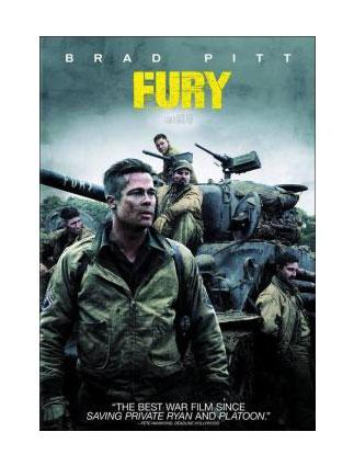 Fury Movie on DVD