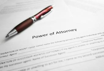 Power of Attorney legal document