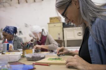 Arts and Crafts for Senior Citizens
