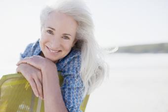 Long Hairstyles for Elderly Women