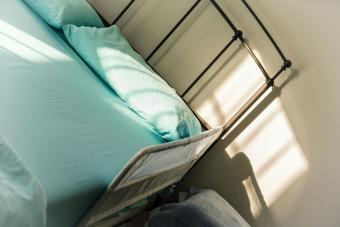 protective safety bed side rail