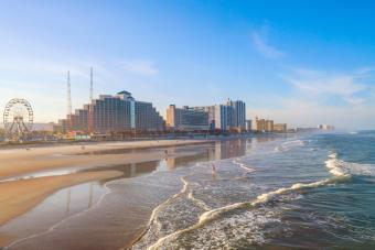 Daytona Beach, Florida from the pier