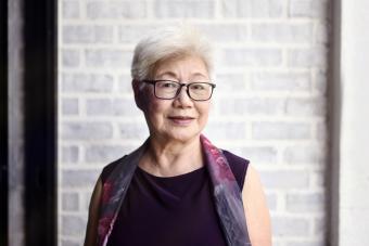 Beautiful senior Malaysian woman