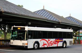 Walt Disney World transportation system bus station