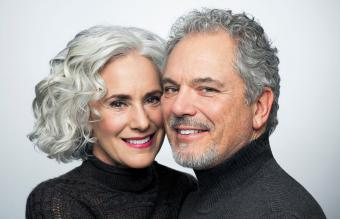 How to Make Gray Hair Soft and Shiny