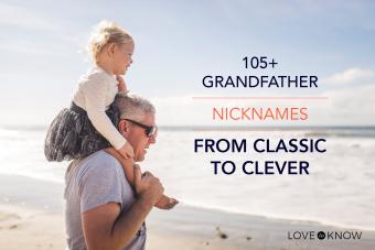 105+ grandparent nicknames
