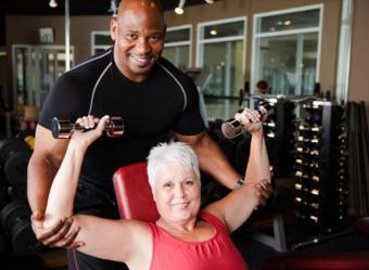 seniors weight training fitness ideas