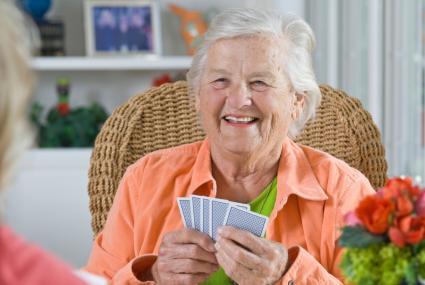 Senior Playing Cards