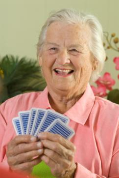 Resident playing cards