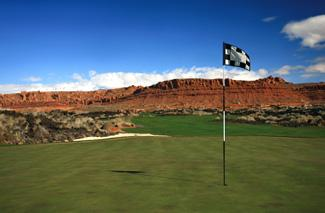 Golf course in St. George, Utah