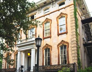 Elegant Antebellum Mansion, Savannah, Georgia