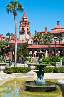Historic Flagler College St. Augustine Florida