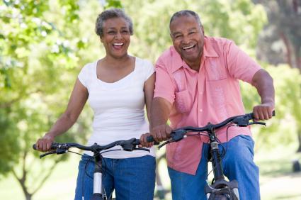 bike riding seniors