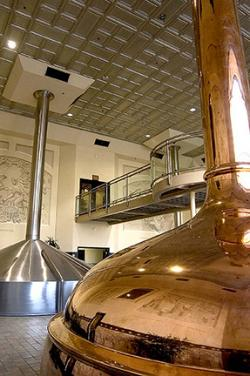 Brewhouse at the Sierra Nevada Brewing Company, Chico, California