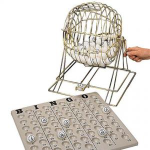 Bingo Institutional 15 inch Cage Set