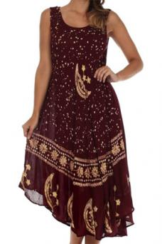 Sakkas Batik Caftan Dress