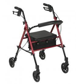 Drive Medical Adjustable Height Rollator