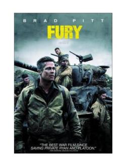 Fury Movie on DVD