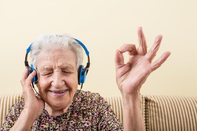 rockin granny