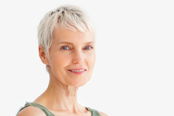 Gallery Of Short Hair Styles For Senior Women