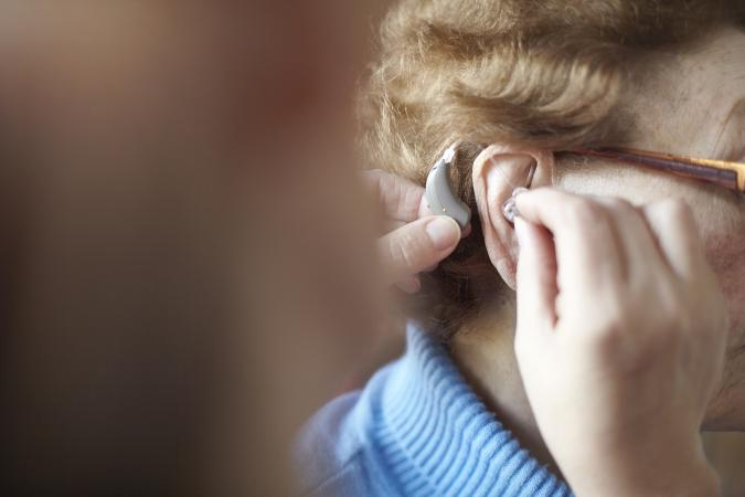 Getting a hearing aid
