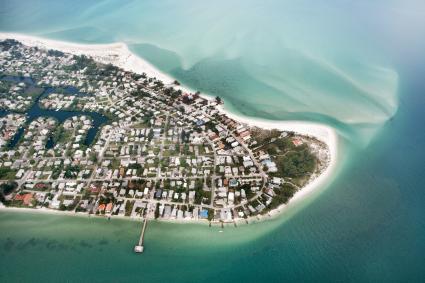 Anna Maria Island aerial photo