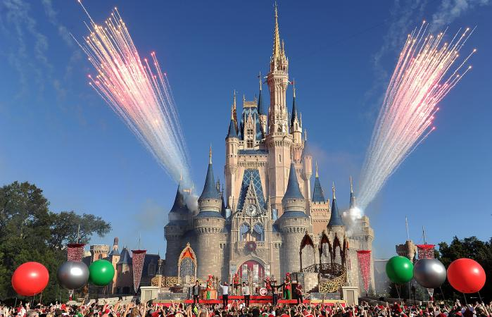 Disney Parks Christmas TV Special Pre-Taping