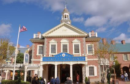 The Hall of Presidents in Disney World Orlando