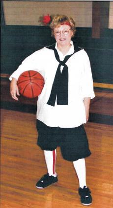 Barb McPherson, director of Iowa's Granny Basketball League